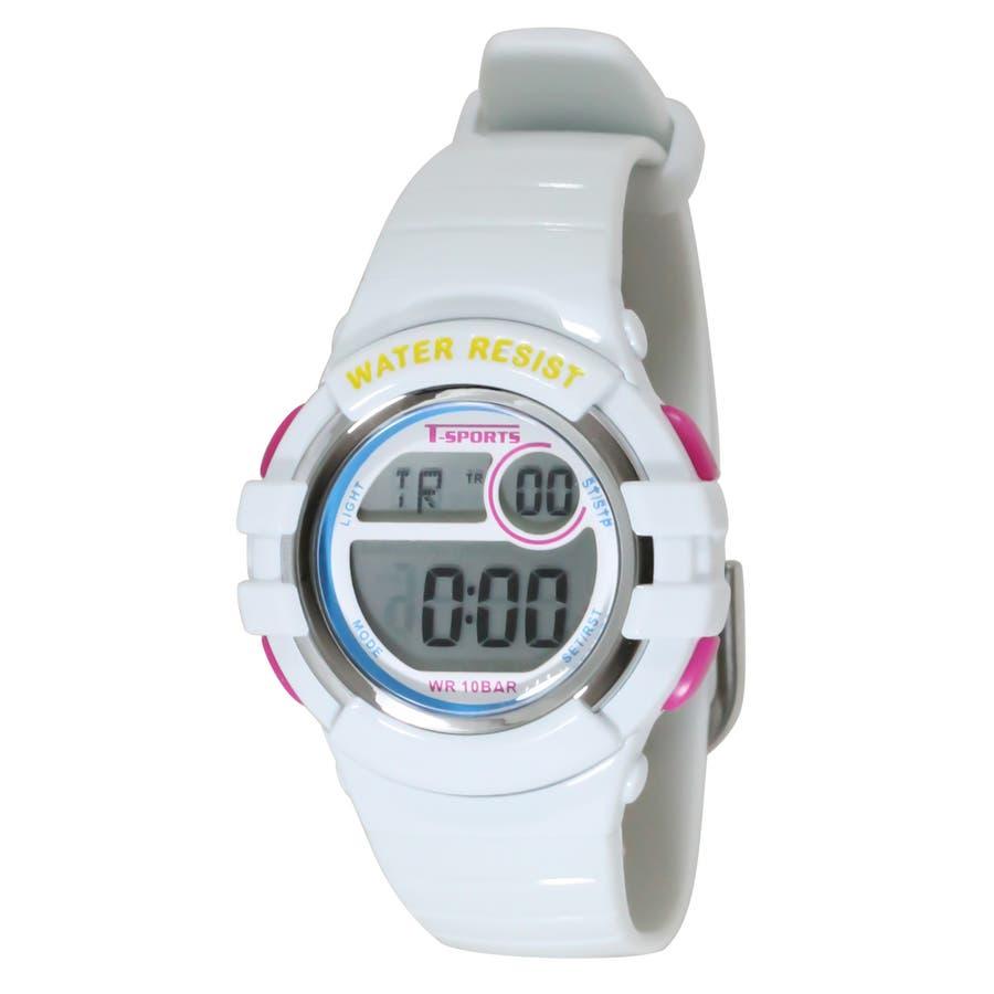 T-SPORTS ティースポーツ デジタルウオッチ 10気圧防水 腕時計【TS-D063】 3