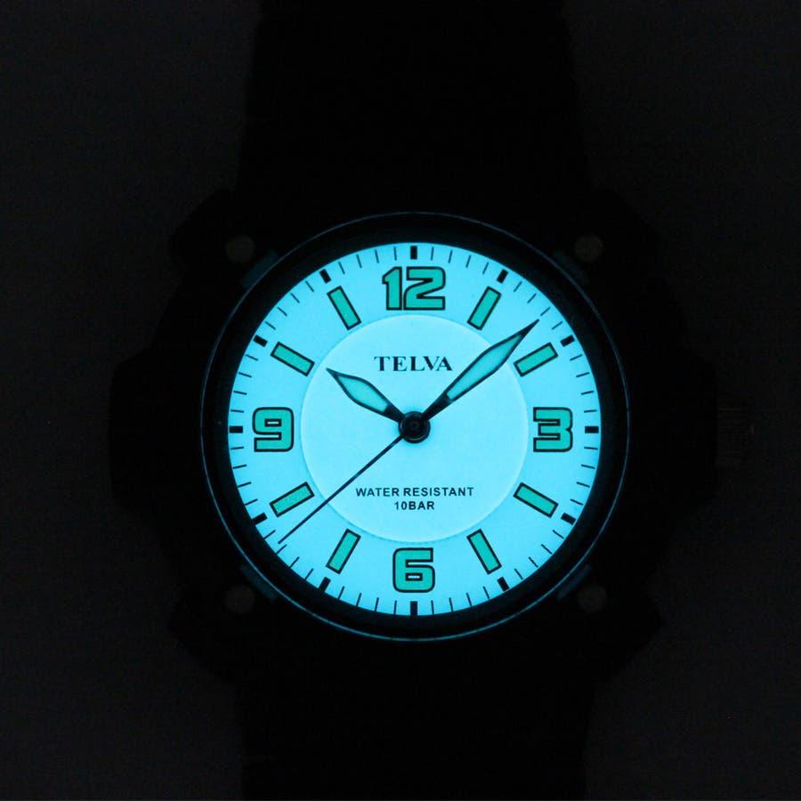 メンズスポーツウォッチ ELライト 10年電池【TEV-2342】 4