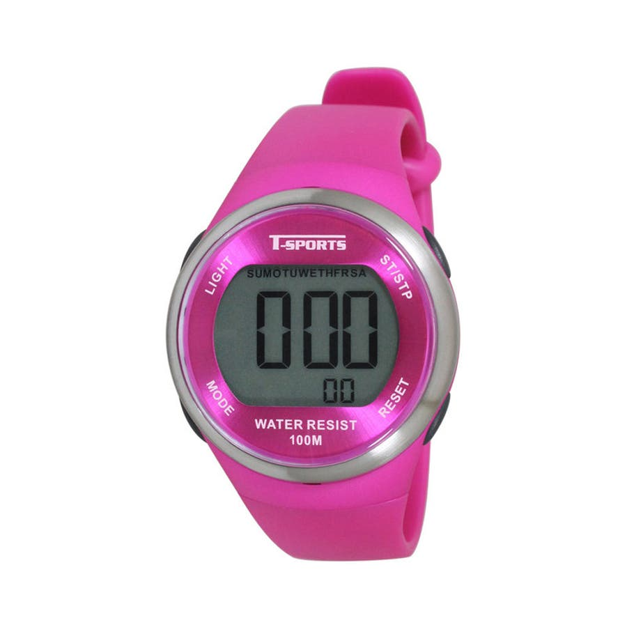 デジタルウオッチ アラーム チャイム 腕時計【TS-D032】 1