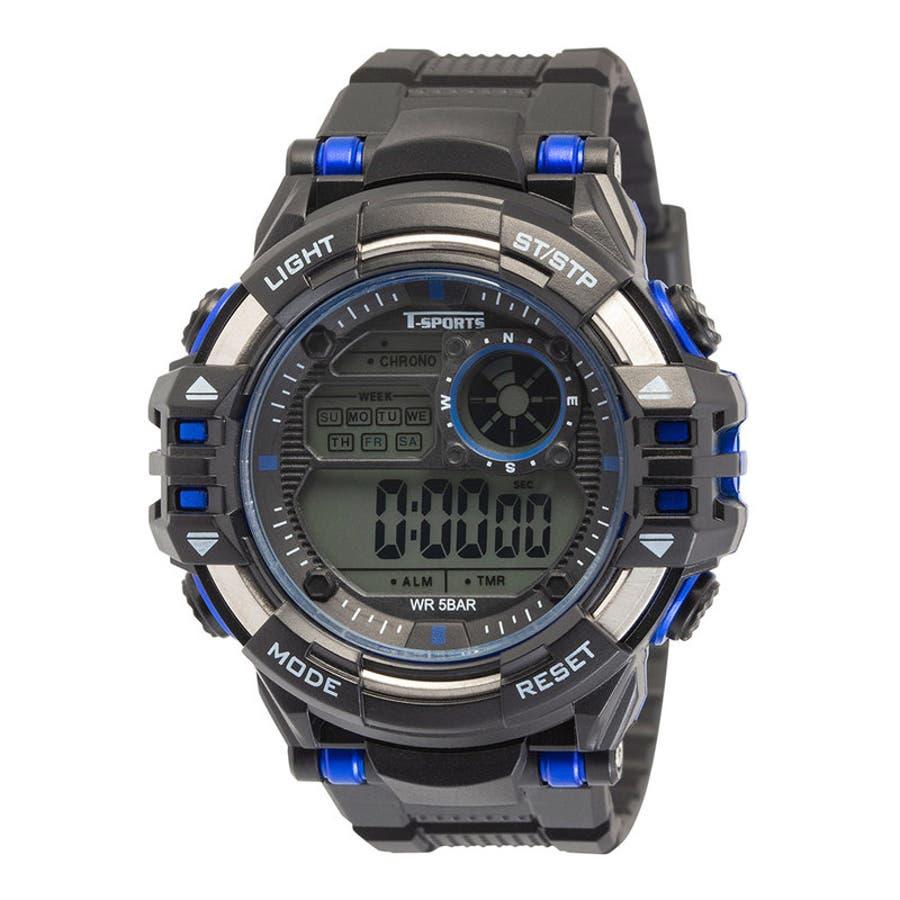 5気圧カジュアル スポーツウォッチ 腕時計【TS-D212】 1