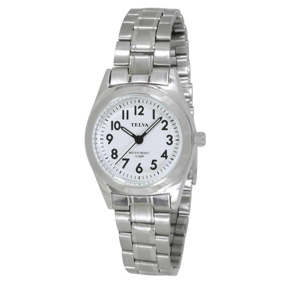 TELVA テルバ アナログウオッチ レディース 10気圧防水 腕時計【TE-AL010】 103
