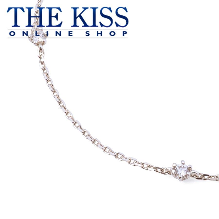 db35368f3d2502 THE KISS シルバー ブレスレット 17cm レディースジュエリー・アクセサリー ジュエリーブランド THEKISSブレスレット 記念日  プレゼント