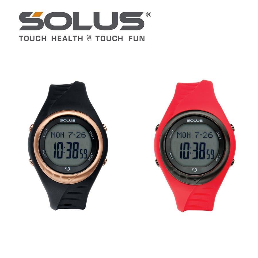 dc2f9fa833 SOLUS(ソーラス) 腕時計 心拍計測機能付 Team Sports 300 チームスポーツ 300