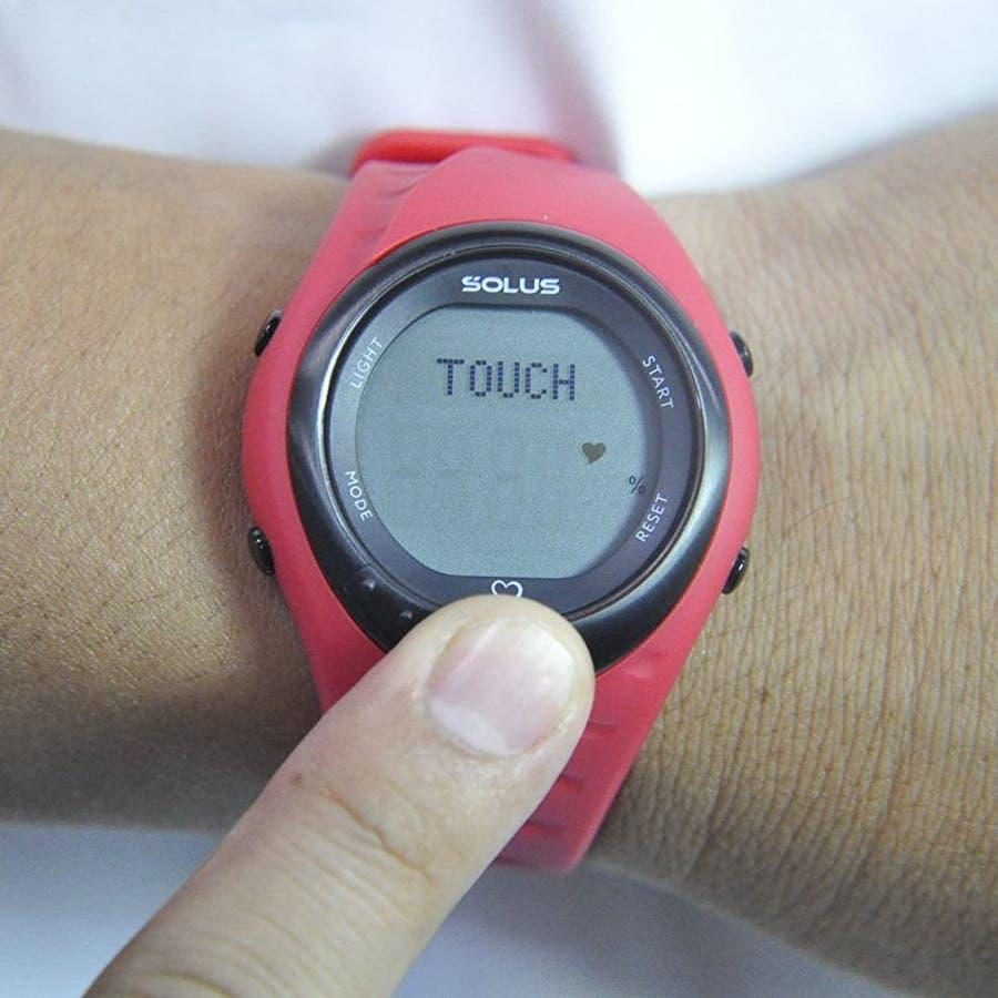 bcdc6a5c6e SOLUS(ソーラス) 腕時計 心拍計測機能付 Team Sports 300 チームスポーツ ...