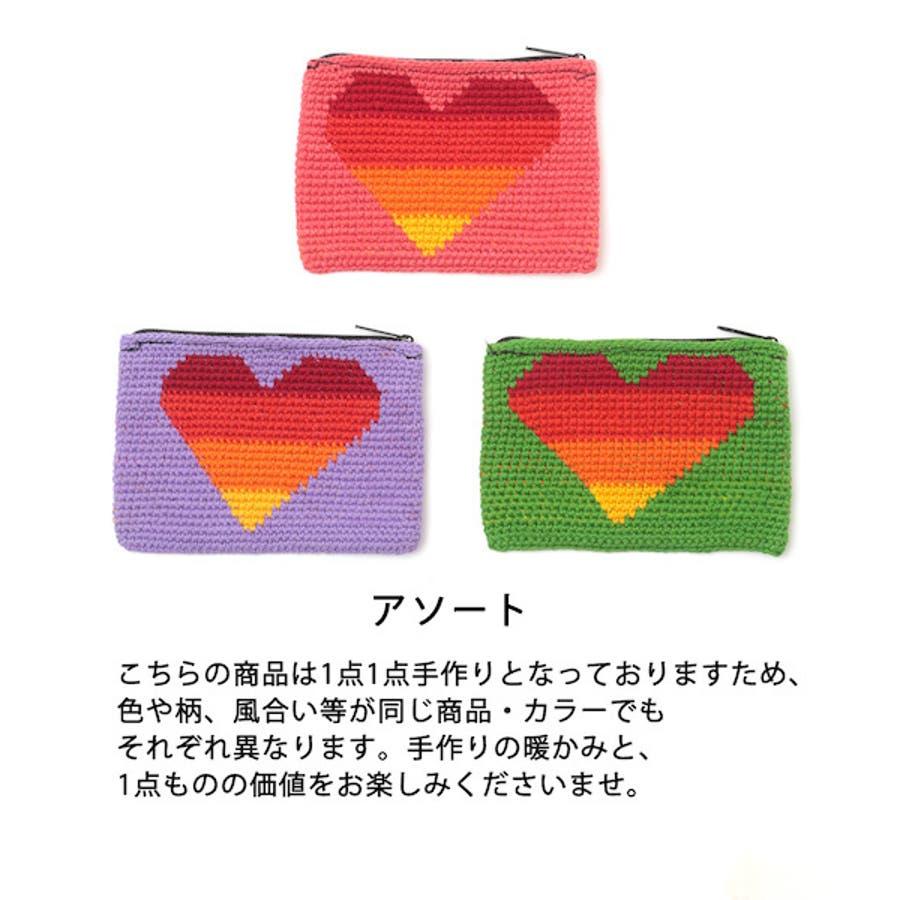 チチカカ ハート財布 gua100126 レディース 3