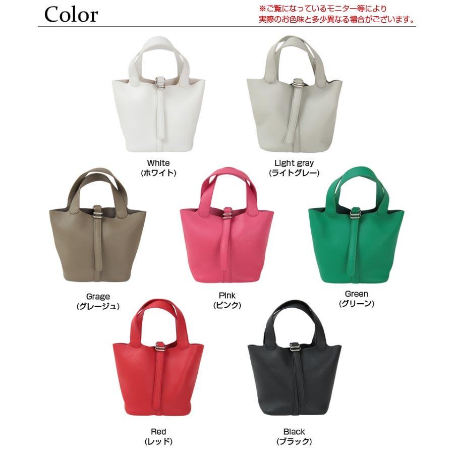 スモールシンプルハンドバッグ/どんなコーディネートにも合わせやすいハンドバッグ/バッグ/レディース/鞄/ハンドバッグ/小さめ/ベルト/合皮 2
