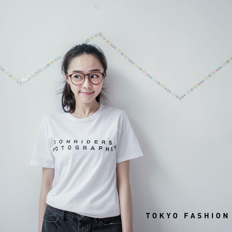 いい感じこんなコーデ Toki Choi シンプルラウンドネックTシャツ-4003667-2014 03 03 トップス 煤塵