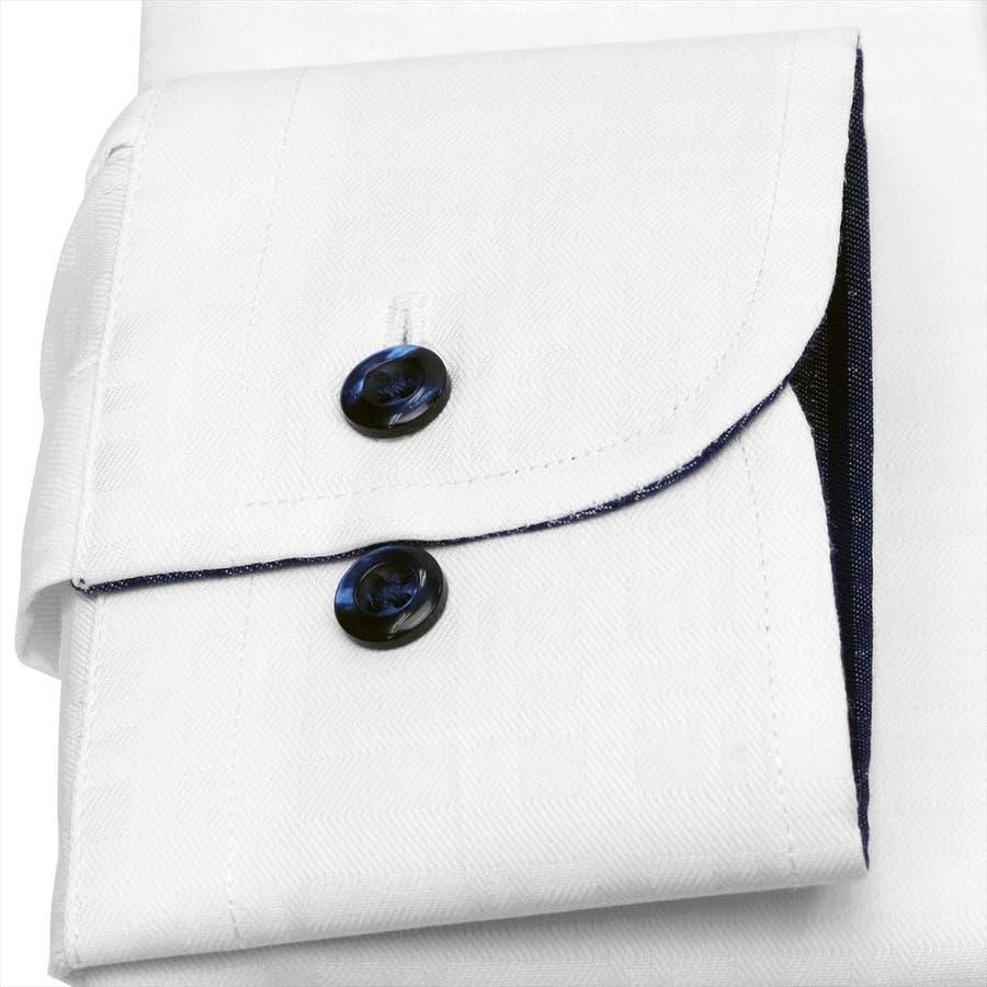 ワイシャツ 長袖 形態安定 3