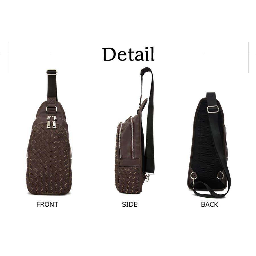 ボディバッグ メンズ ウエストバッグ ウエストポーチ レディース ボディーバッグ ヒップバッグ メッシュ 編みこみ 編み込み カバン かばん 鞄 カジュアル 旅行 男性用 メンズファション 通販 新作 10