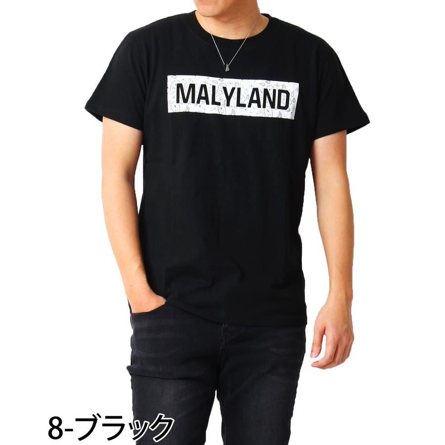 Tシャツ メンズ 半袖 ボックス ロゴ プリント クルーネック ブラック ホワイト ネイビー コットン 綿100% ティーシャツトップス 通販 新作 春 夏 服 9