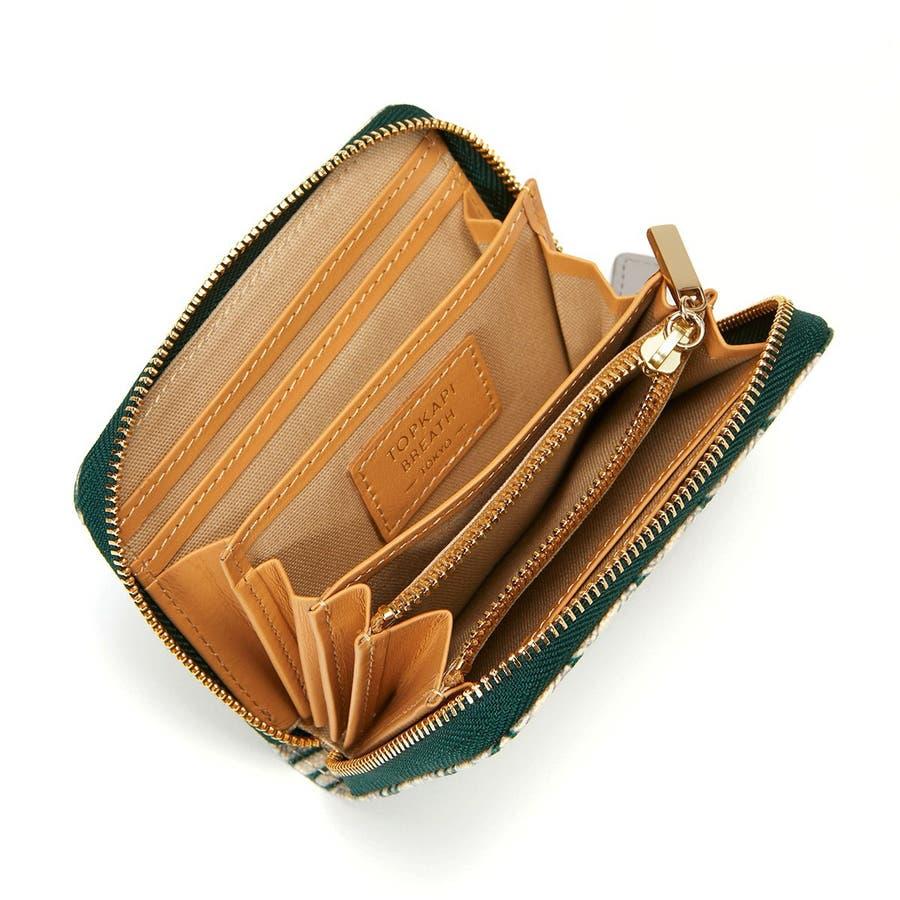 [トプカピ ブレス] TOPKAPI BREATH モノグラム柄BBミニ財布 5