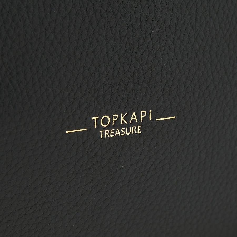 [トプカピ トレジャー] TOPKAPI TREASURE ソフトシュリンク テープコンビ A4 トート バッグ 6
