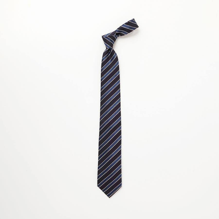 ネイビーベース ネクタイ ブルー 2