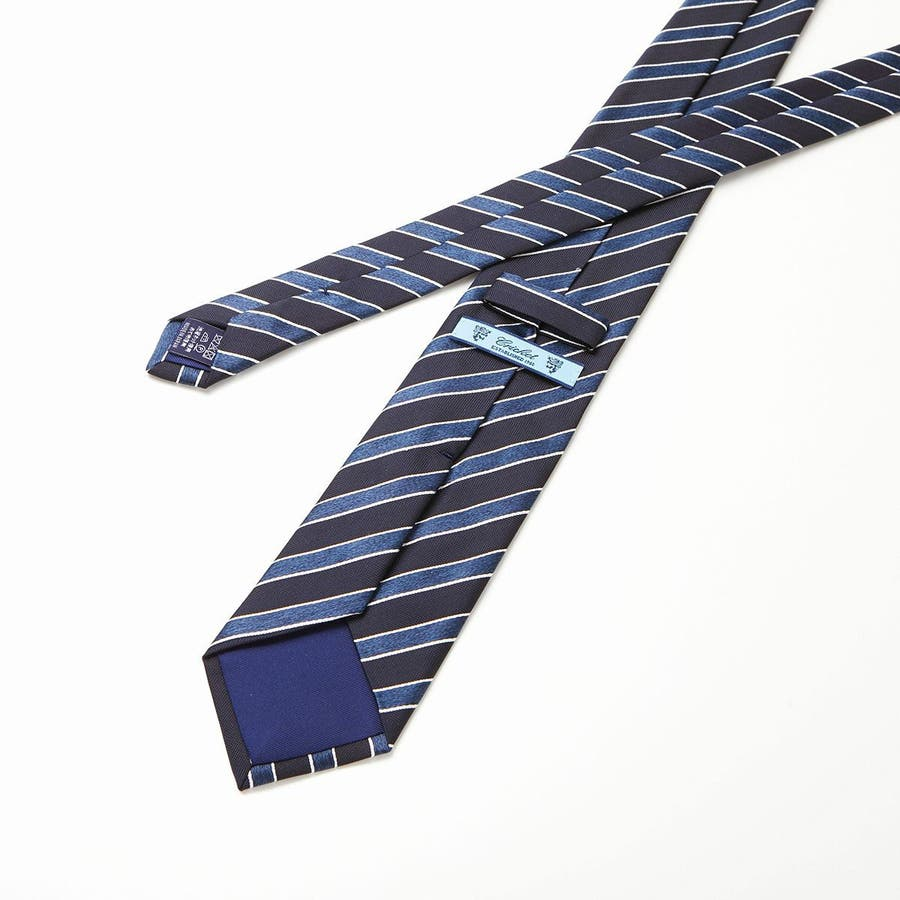 ネイビーベース ネクタイ ブルー 5