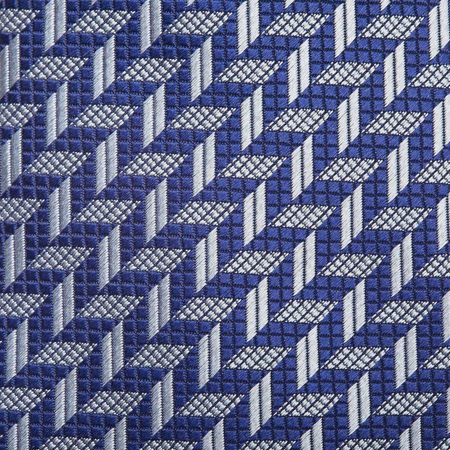 幾何学柄 ネクタイ コン 3