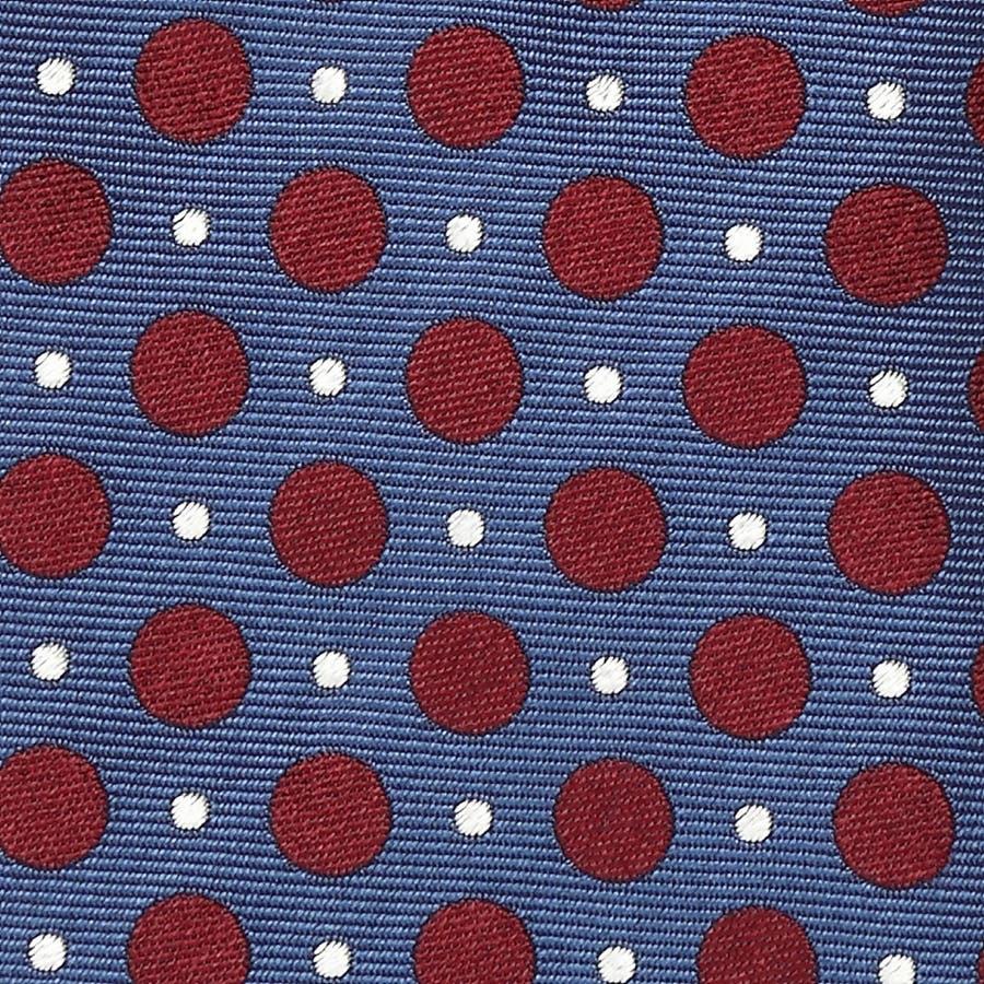 2色ドット柄 ネクタイ コン 3