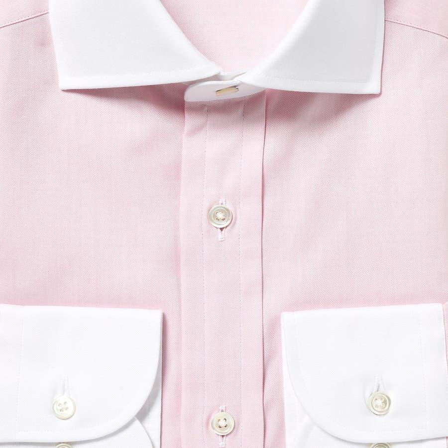 オリジナル マスターシード ピンポイントOX クレリックセミワイドカラーシャツ 日本製 ペールブルー 8