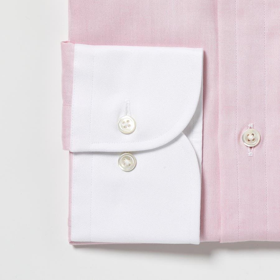 オリジナル マスターシード ピンポイントOX クレリックセミワイドカラーシャツ 日本製 ペールブルー 9