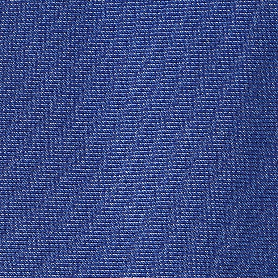 ネクタイ無地・タイピン・ハンカチ 3点セット Premium ブルー 4