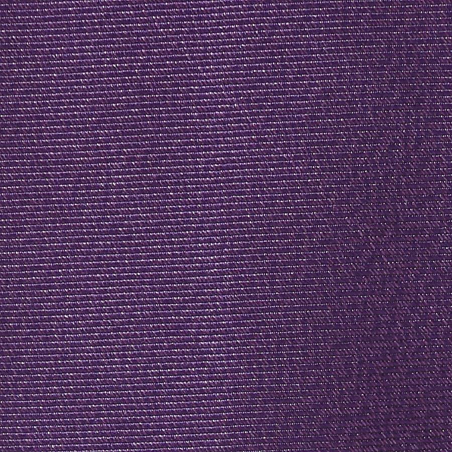 綾織りメランジ無地ネクタイ Premium ダークパープル 6