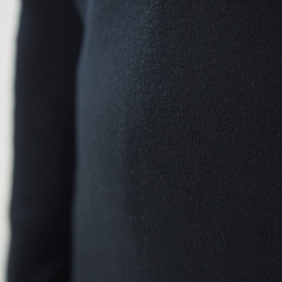 肌触り良く オンオフ使える大人のハイゲージシンプルニット Vネック 韓国 韓国ファッション 秋 秋冬 10