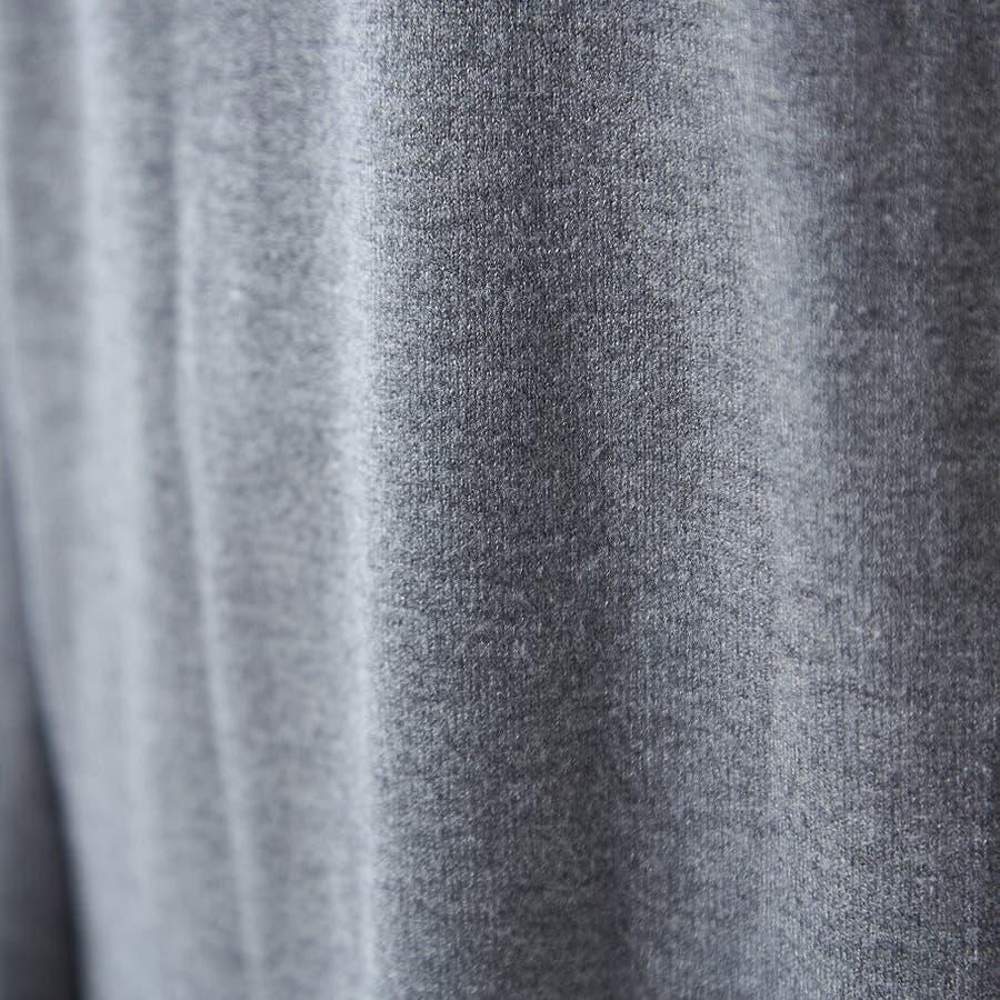 程よく抜け感を出せるニットロングワンピ ニット ワンピース 無地 Vネック 韓国ファッション 韓国 秋 秋冬 9