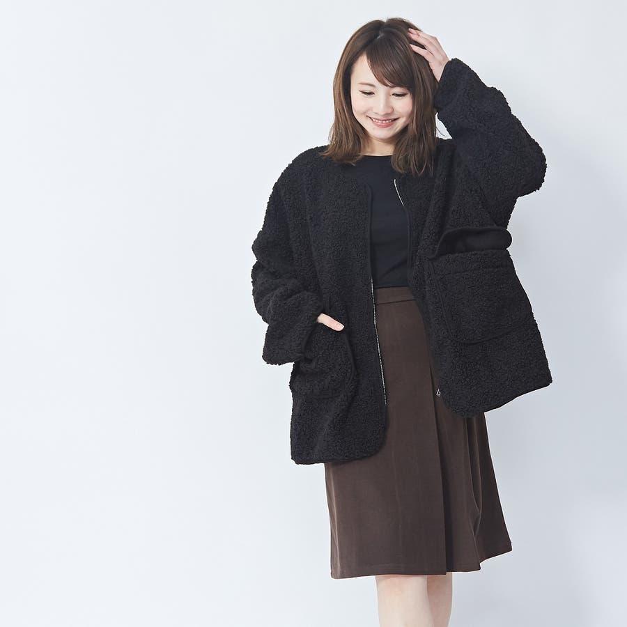 アシメプリーツ タイトスカート 韓国ファッション 韓国 秋 秋冬 冬 29