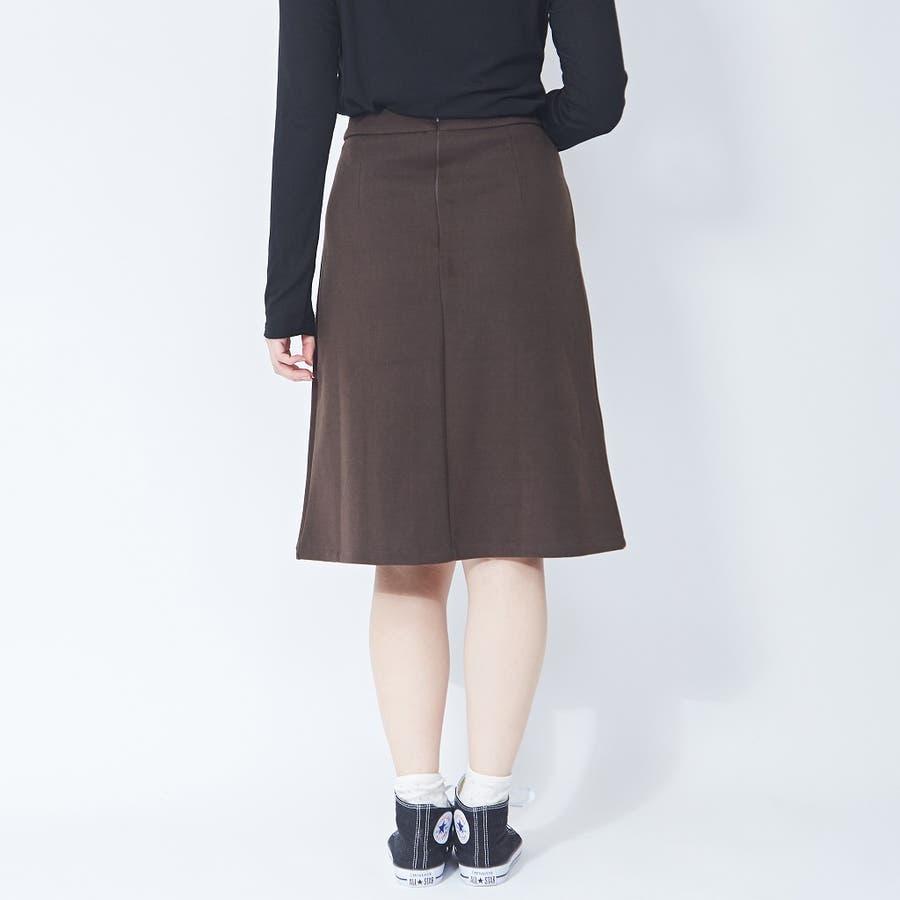 アシメプリーツ タイトスカート 韓国ファッション 韓国 秋 秋冬 冬 4