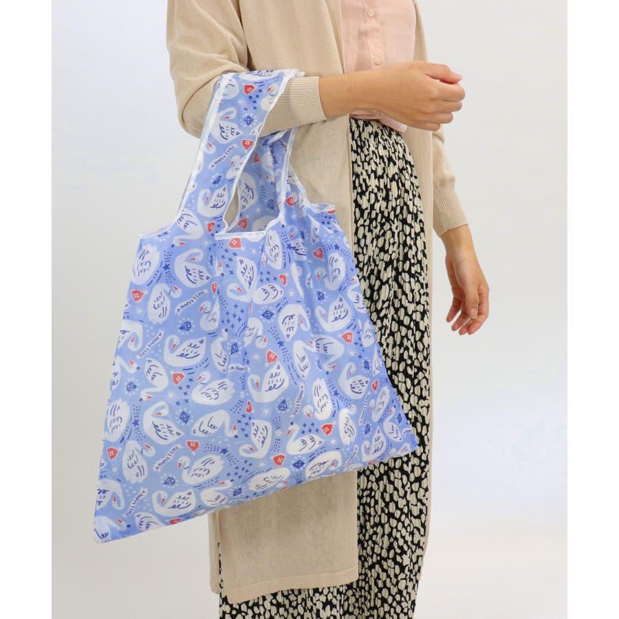 エコバッグ 折りたたみ コンパクト レジ袋 軽量 大 コンビニ アニマル 柄 おしゃれ 買い物バッグ 薄い 持ち運び レジバッグエコバッグ 76