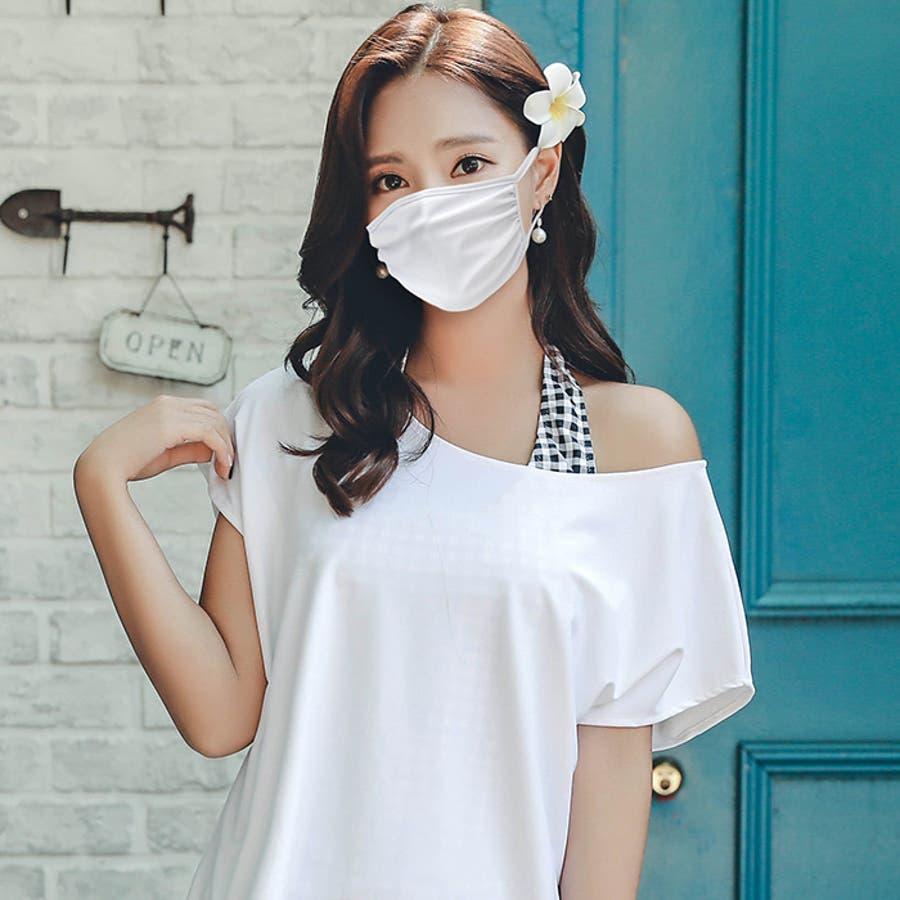 冷感 マスク 夏用マスク 涼感 マスク 水着素材 水着生地 水着マスク 布 洗える 繰り返し 同色6枚セット すっぴん 水中プール 白 ホワイト 黒 ブラック 防寒 通気性 mask  ポケット付 8