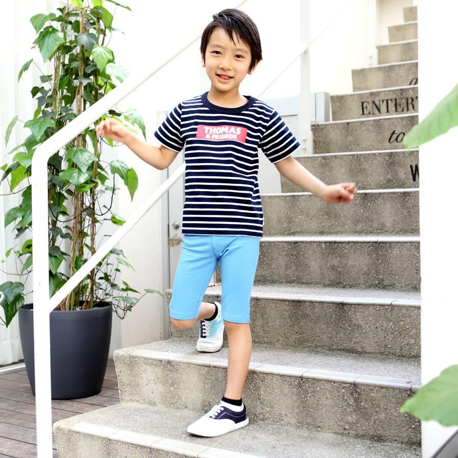 トーマス☆ストレッチ裏毛ハーフパンツ/キッズ男の子 8