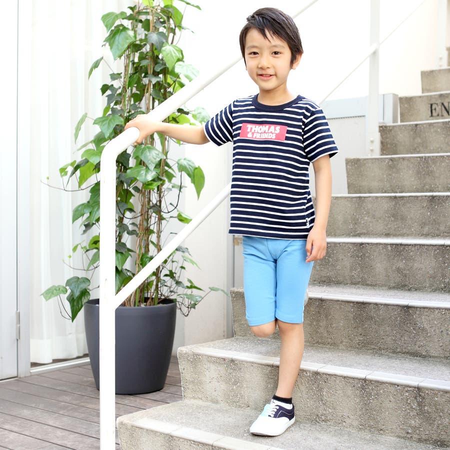 トーマス☆ボーダーTシャツ/キッズ男の子 6