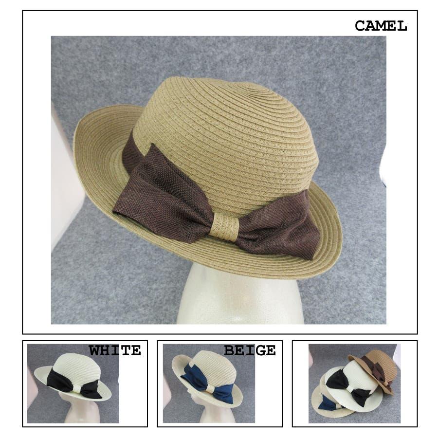 これに決めた! メッシュリボンカンカン帽 豪気