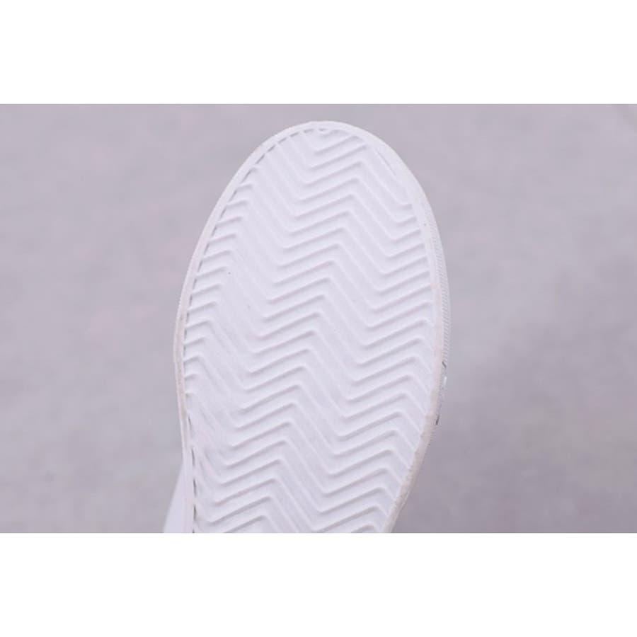 スニーカー 靴 シューズ カジュアル ハイカット シンプル レディース 10