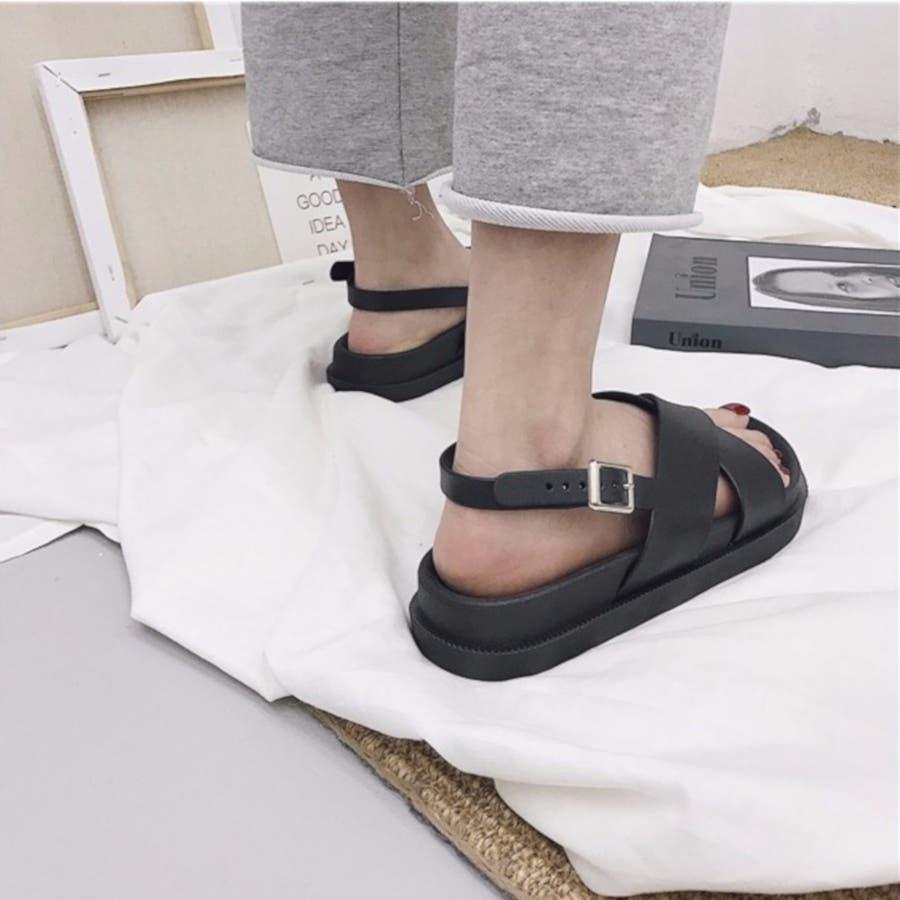 サンダル スポーツサンダル 靴 シューズ 厚底サンダル 歩きやすい カジュアル レディース 4