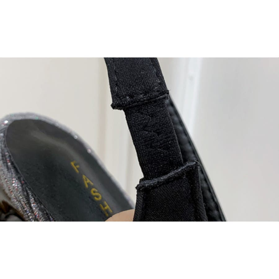 パンプス 靴 シューズ きれいめ ヒール 太ヒール スクエアトゥ レディース 6