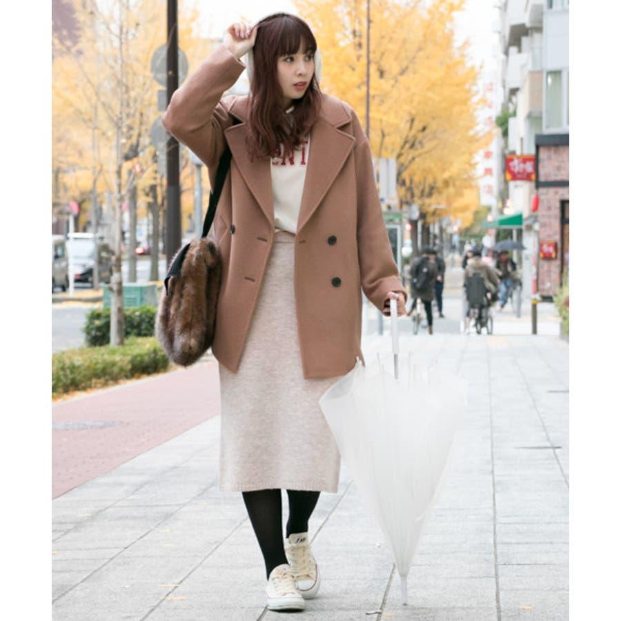 【WEB限定】ニュアンスカラーニットスカート 5