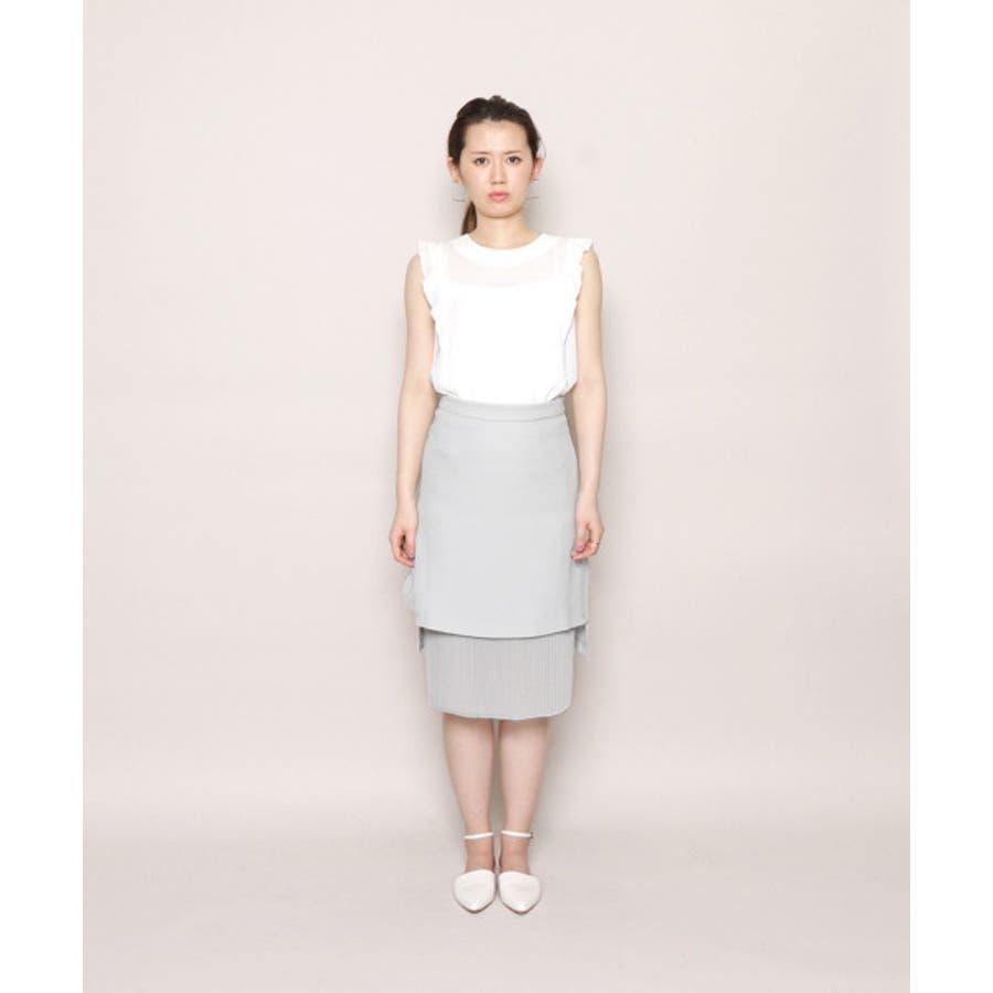 CF シアープリーツタイトスカート 5
