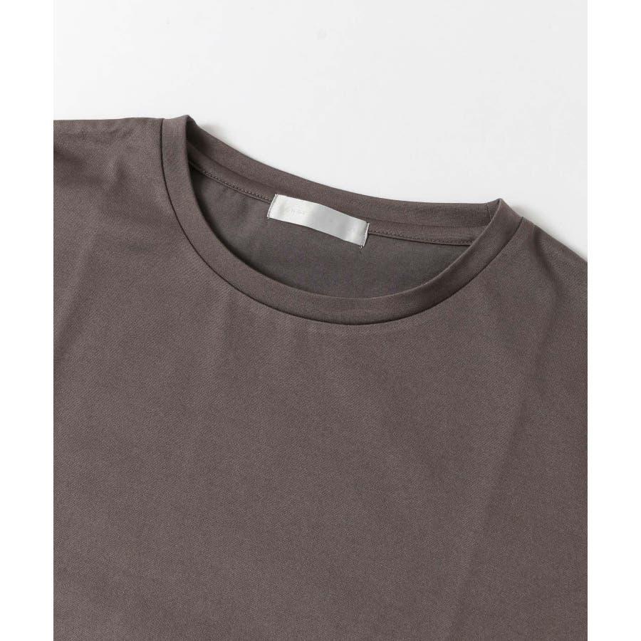 バイカラーTシャツ(5分袖) 3