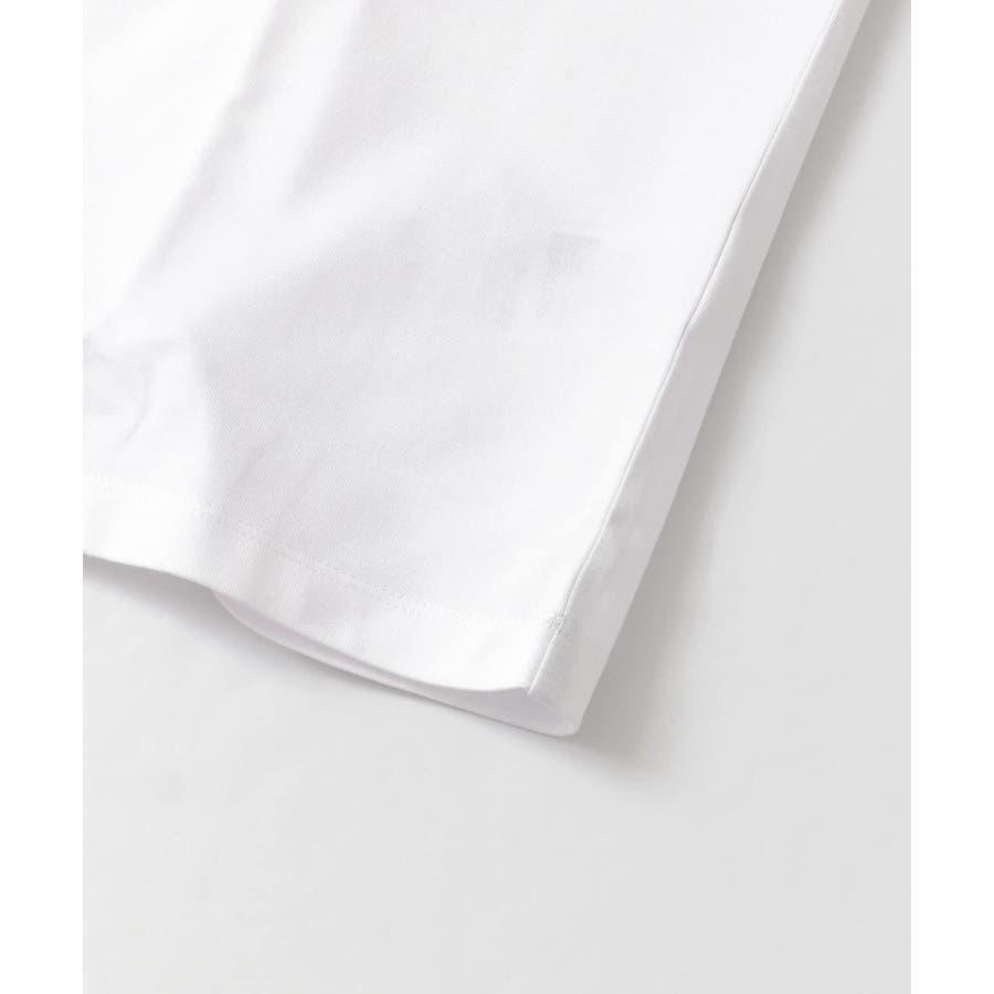 バイカラーTシャツ(5分袖) 5
