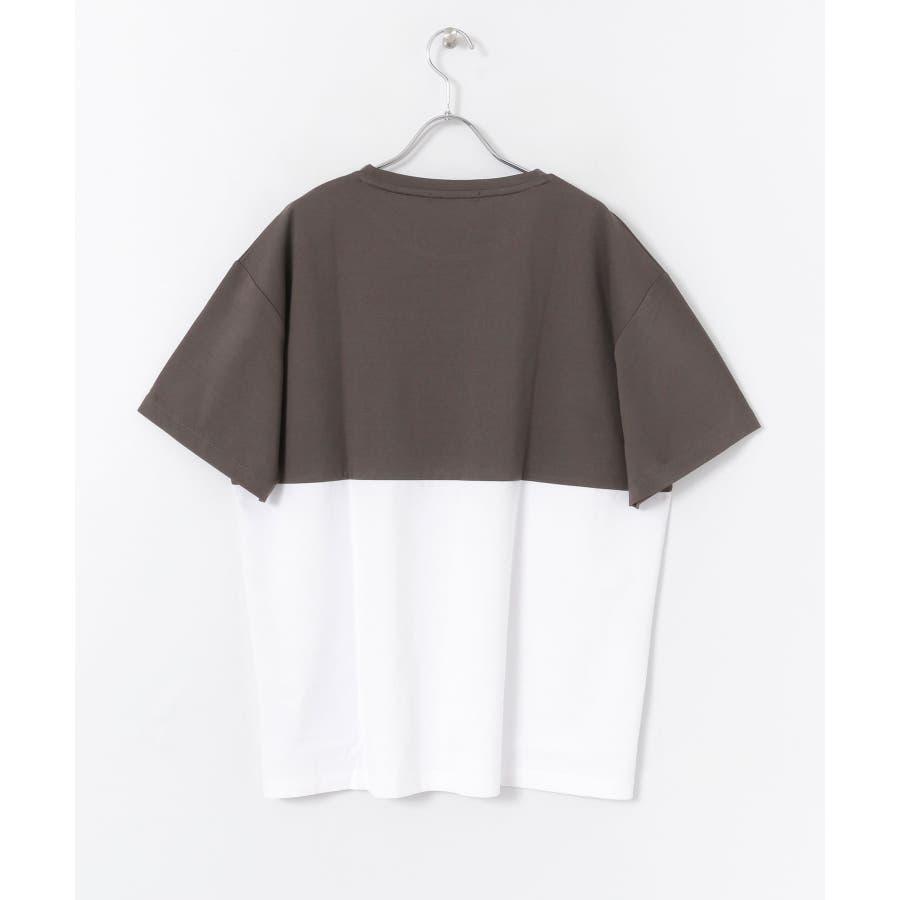 バイカラーTシャツ(5分袖) 6