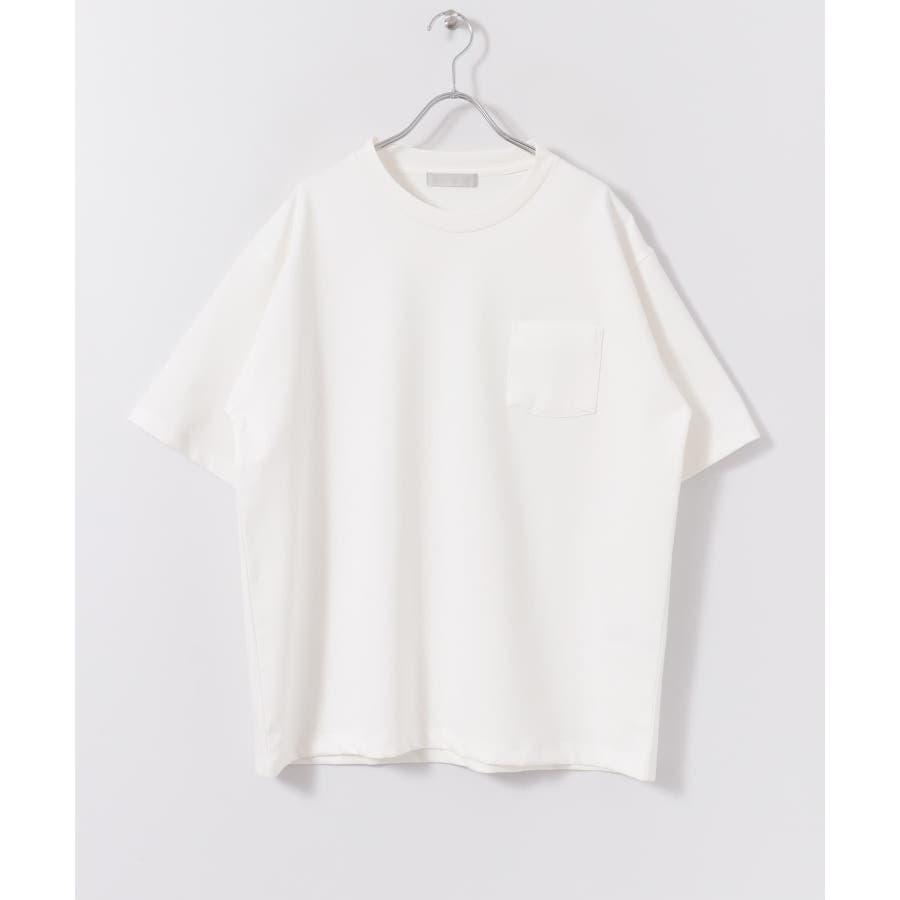 ポンチポケットTシャツ(5分袖) 2