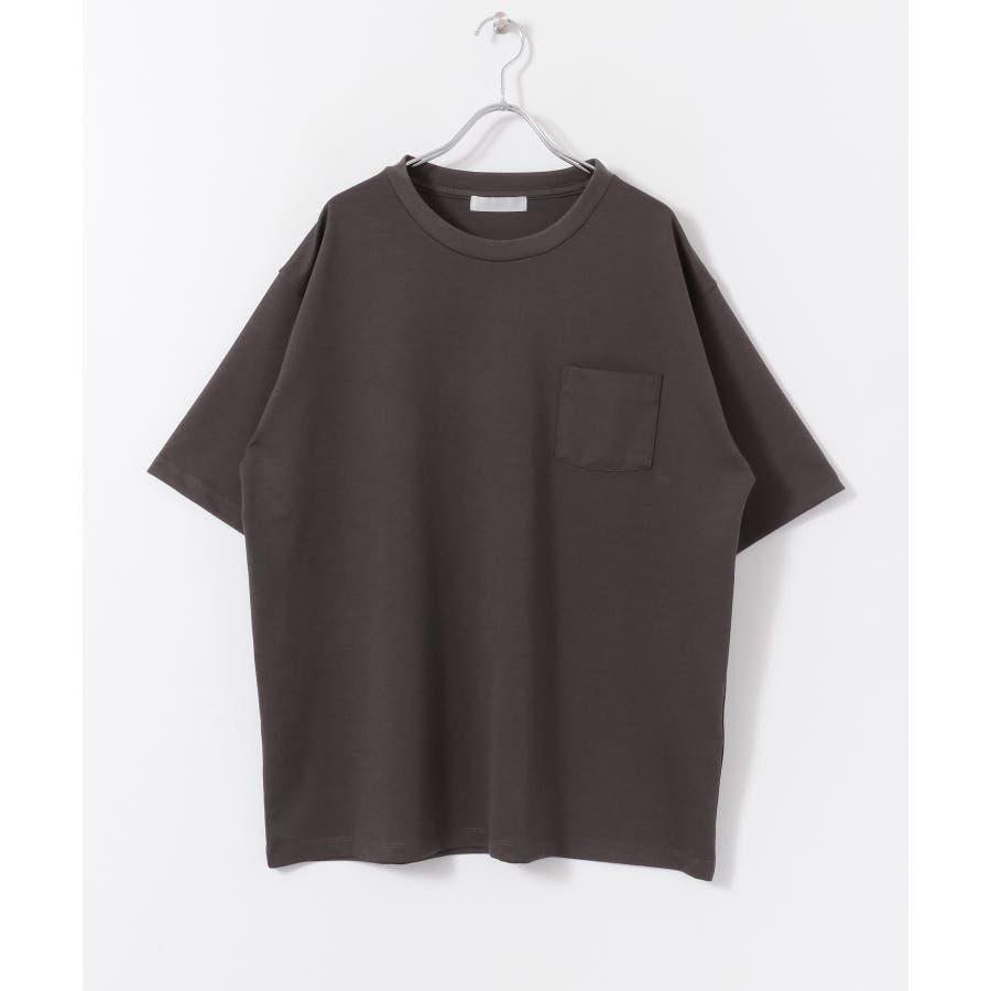 ポンチポケットTシャツ(5分袖) 4