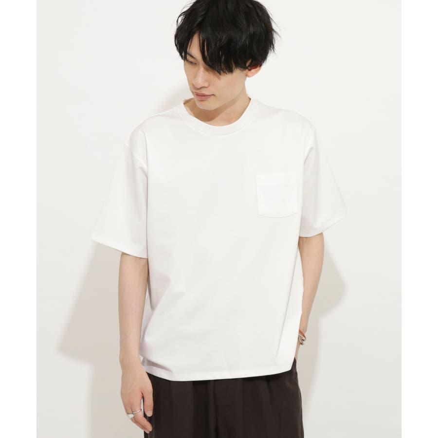 ポンチポケットTシャツ(5分袖) 16