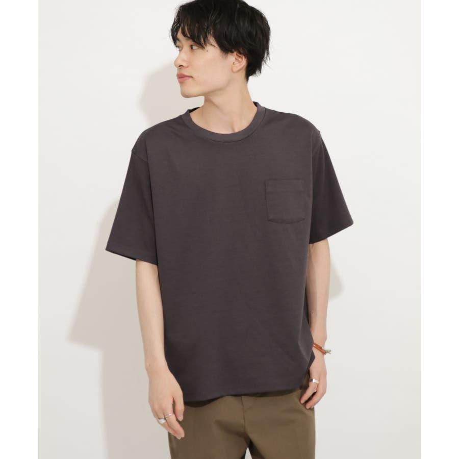 ポンチポケットTシャツ(5分袖) 26