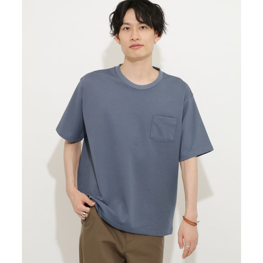 ポンチポケットTシャツ(5分袖) 59