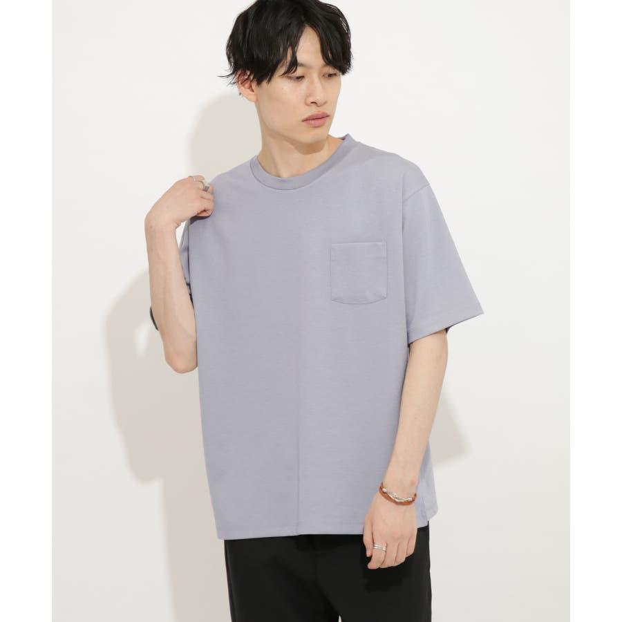ポンチポケットTシャツ(5分袖) 60