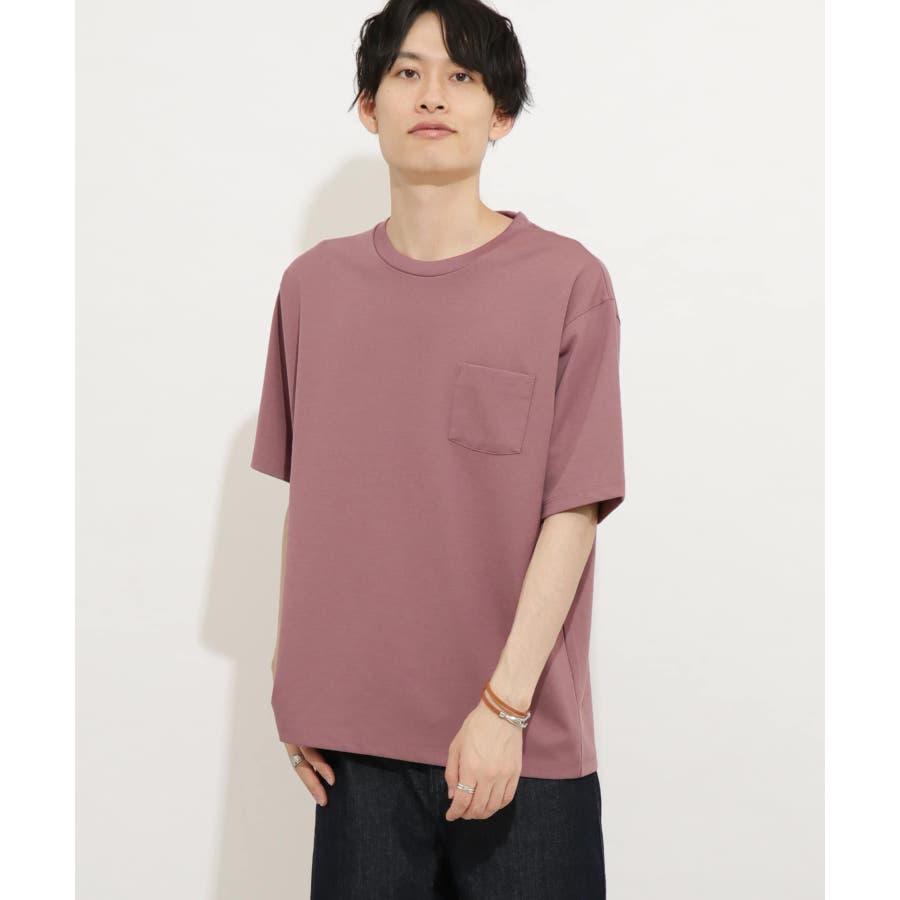 ポンチポケットTシャツ(5分袖) 87