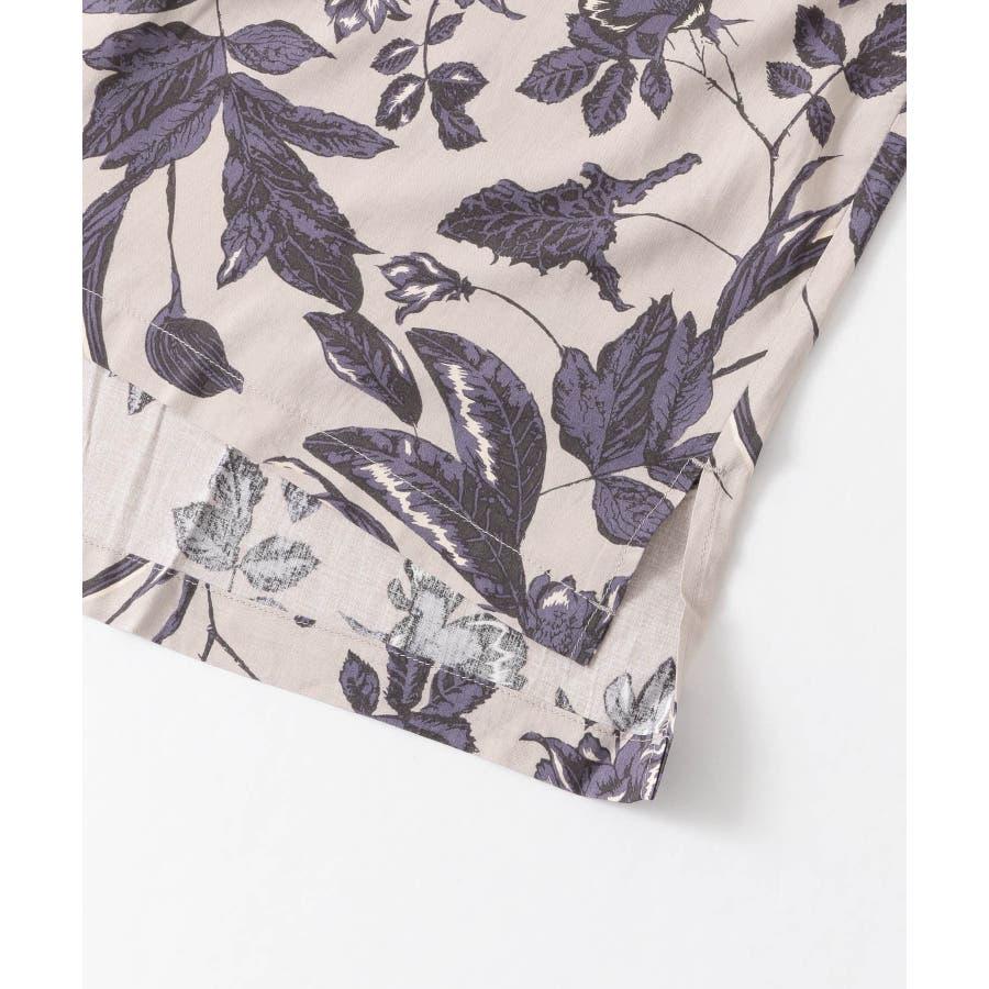 ボタニカルオープンカラーシャツ(5分袖) 5