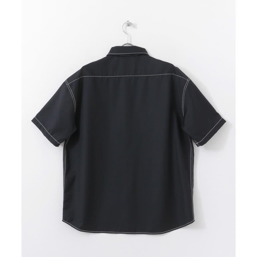 ステッチアウトCPOシャツ(5分袖) 4